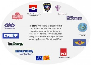 Dallas Servant Leadership Learning Community: We aspire to practice and improve our collective skills as a learning community centered on servant leadership.
