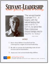 Robert greenleaf essay servant leadership